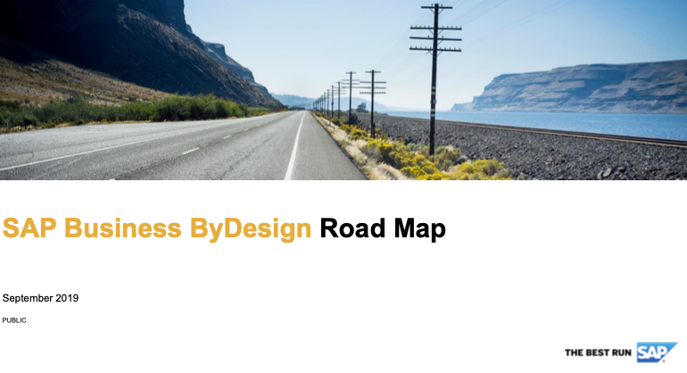 SAP Business ByDesign 2020