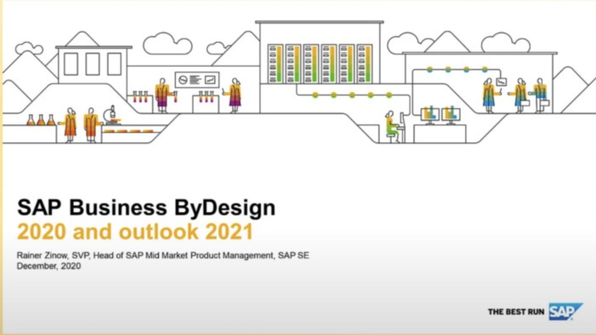 SAP Business ByDesign 2021